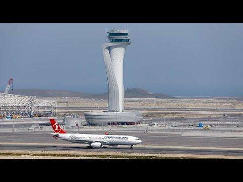 Κωνσταντινούπολη: Εγκαινιάζεται το νέο αεροδρόμιο