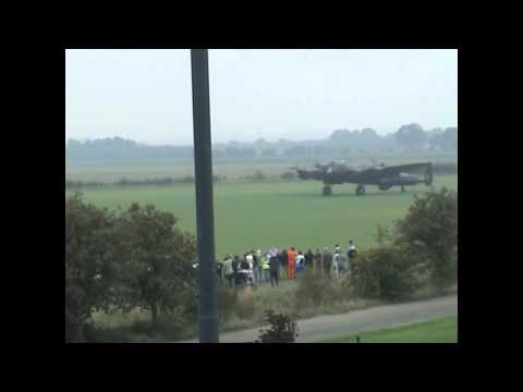 Avro Lancaster tail up taxy run- Official Video