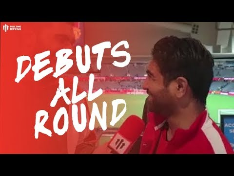 PERTH GLORY 0 MAN UTD 2: Fancams: Debuts For United!