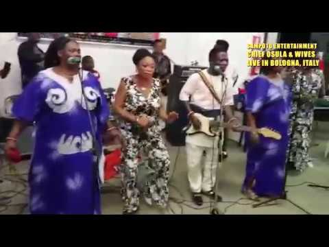 Chief Osula And Wives Live On Stage In Bologna 2018. Peoples Freedom Movement (pfm) Concert