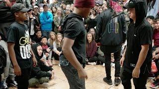 Kida & Kendrick vs. Ant & Wren | D-trix Lollicup Jam