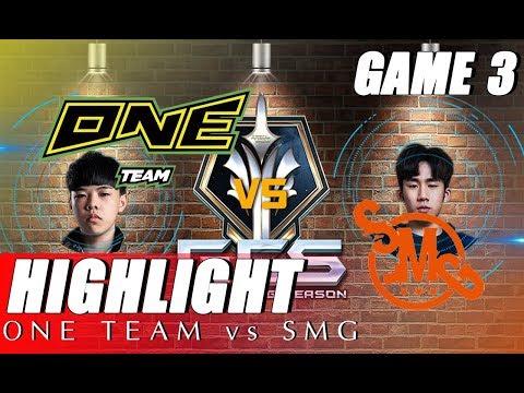 ONE TEAM vs STILL MOVING-UNDER GUNFIRE - GCS 2019 | HIGHLIGHT GAME 3 - Thời lượng: 4 phút, 31 giây.