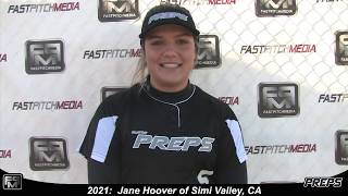 2021 Jane Hoover Shortstop and Third Base Softball Skills Video - Easton Preps