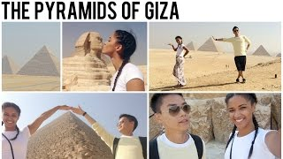 Giza Egypt  City pictures : Visiting the Pyramids of Giza • Egypt Vlog •