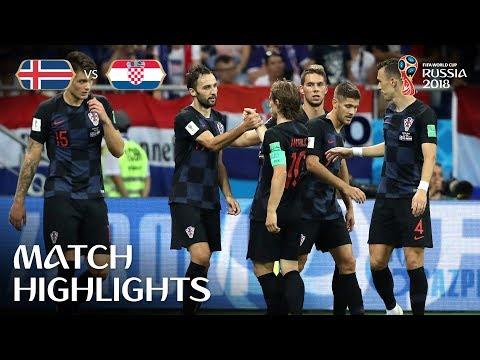 Iceland v Croatia - 2018 FIFA World Cup Russia™ - Match 40 (видео)
