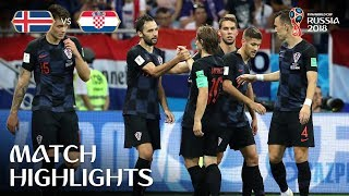 Video Iceland v Croatia - 2018 FIFA World Cup Russia™ - Match 40 MP3, 3GP, MP4, WEBM, AVI, FLV Juli 2018