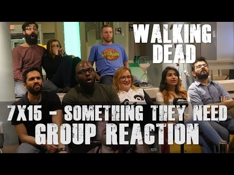 The Walking Dead - 7x15 Something They Need - Group Reaction