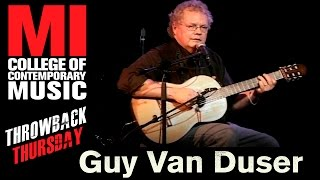 <b>Guy Van Duser</b> Throwback Thursday From The MI Vault 11/29/2005