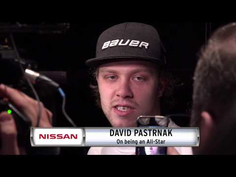 Video: NISSAN Morning Drive: David Pastrnak reacts to All-Star selection