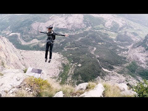 JUMPING OFF 5000ft MOUNTAIN! | Italy (4K)