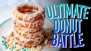THE ULTIMATE DOUGHNUT BATTLE by SORTEDfood