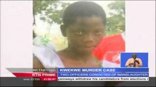 Police Officers Accused Of Killing A 14 Year Old Girl In Kwale Found Guilty Of Manslaughter