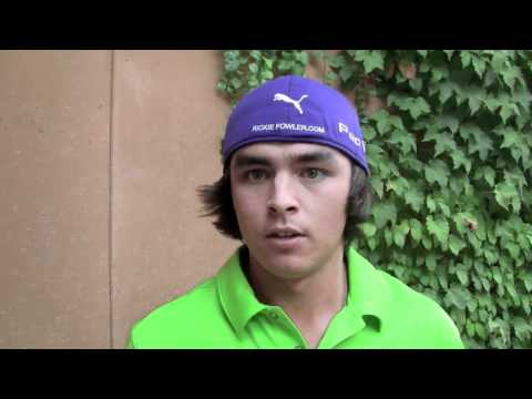 Ricky Fowler seeks his first PGA tour win at age 21.  Pro Golf's next Superstar?