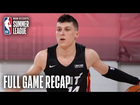 Video: HEAT vs MAGIC | 5 Players Score Double Figures For Miami | MGM Resorts NBA Summer League