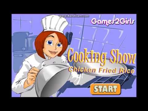 (Pc Browser) Cooking Show Chicken Fried Rice #13
