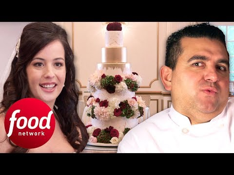 Marissa Doesn't Want Buddy's Sugar Flowers In Her Wedding Cake | Cake Boss