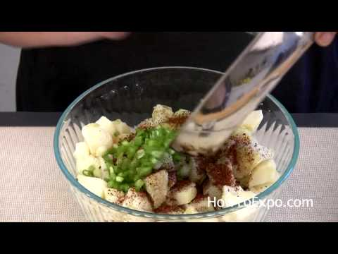 Video Recipe: How to Make a Healthy Mediterranean Potato Salad