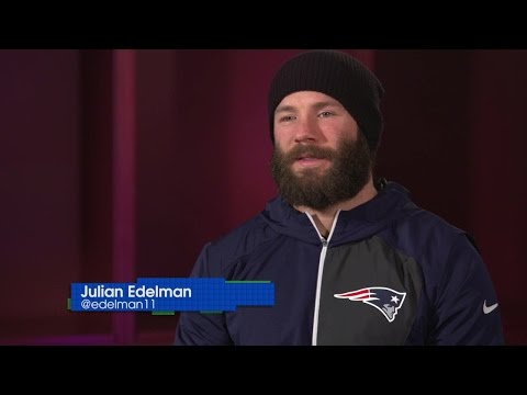 Julian Edelman on his season, the Patriots' playoffs and Animals