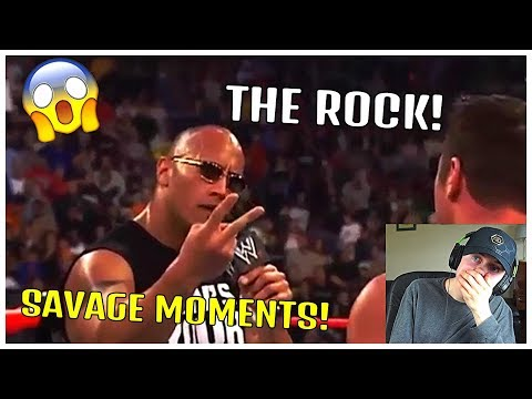 NON WWE FAN REACTS TO THE ROCK'S MOST SAVAGE MOMENTS!