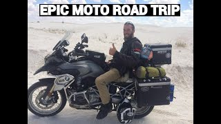 8. Epic Motorcycle Travel Across the United States on R1200GS (2016)