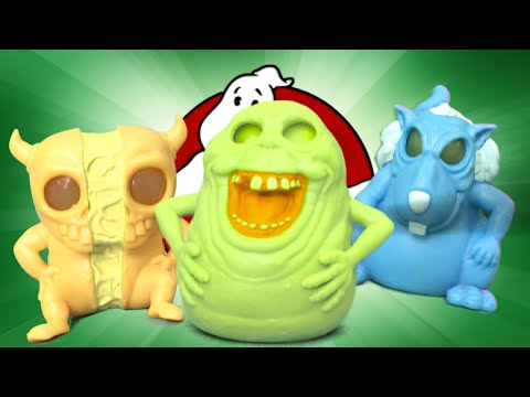 Video Ghostbusters Squishies-Rat Ghost, Squishies Slimer & Squishies Splitting Ghost from Mattel download in MP3, 3GP, MP4, WEBM, AVI, FLV January 2017