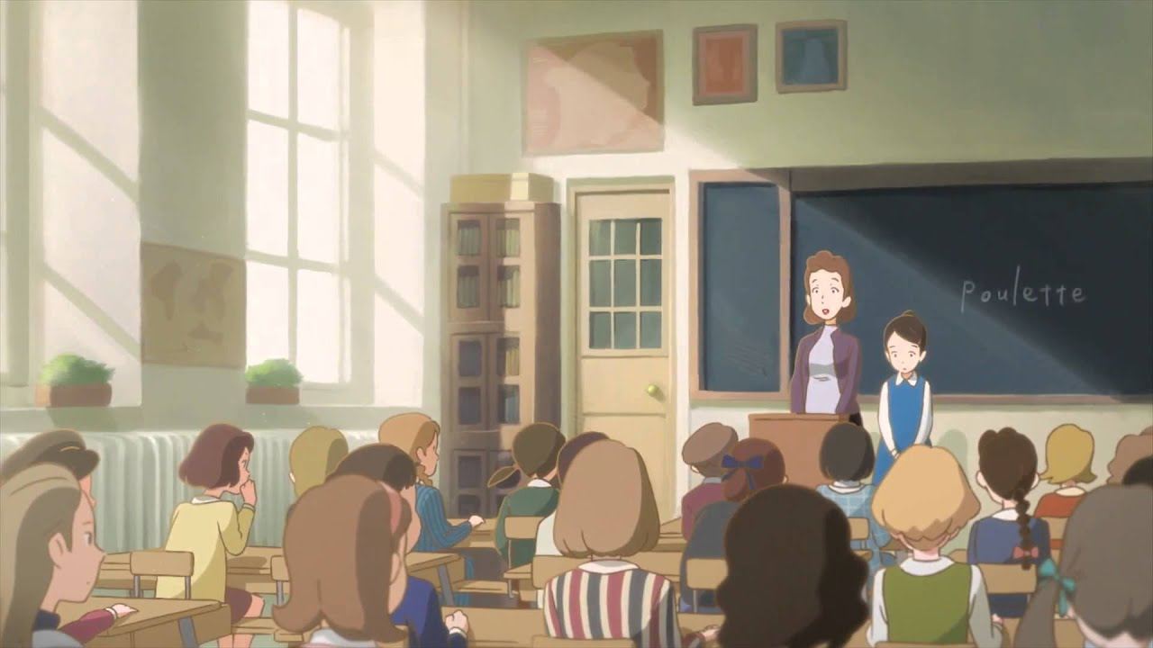 Noitamina Poulettes Chair - 2D Animation Anime short film