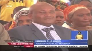 CORD Yatoa Makataa Kwa Wabunge Waasi Wa Vyama Katika Muungano