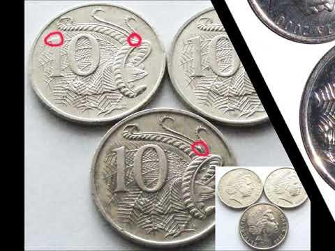 Howards' Coin Photos of Australian 1c to 10c Error & Variety Vol #1