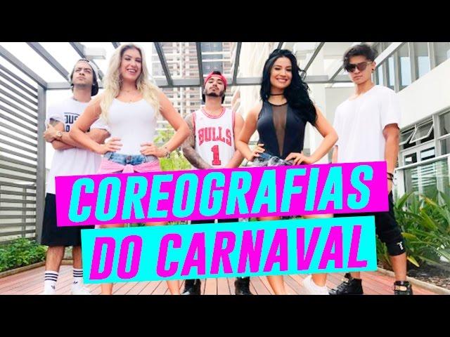 Coreografias do CARNAVAL com Lore Improta e Trio Yeah - Boca Rosa