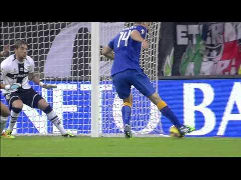 serie a: juventus-parma 7-0, tutti i gol
