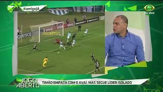 Denilson elogiou a postura do Timão no empate sem gols contra o Avaí na noite de ontem (19) na Ressacada.