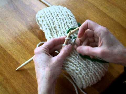 How To Graft Knitting Stitches Together : Grafting Single Rib Wendys Knitting Support
