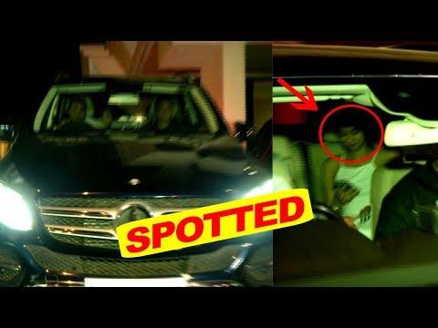 Janhvi Kapoor Spotted At Sanjay Leela Bhansali House