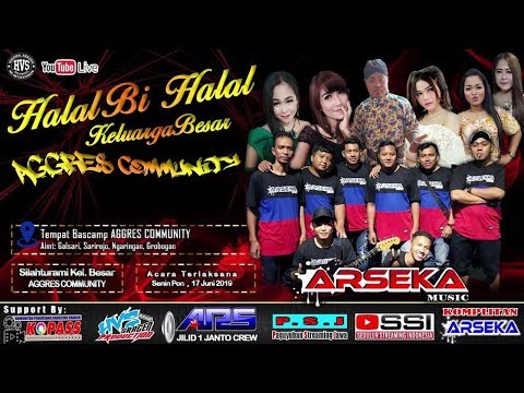 Live Streaming Om. ARSEKA MUSIC // ARS AUDIO JILID 1 // HVS SRAGEN CREW 02