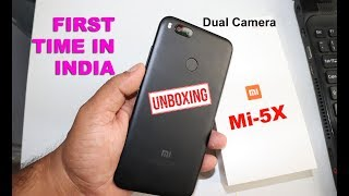 Here is an unboxing and camera review of the new Xiaomi MI 5X in India. In this Video I have also compared the phone size with...