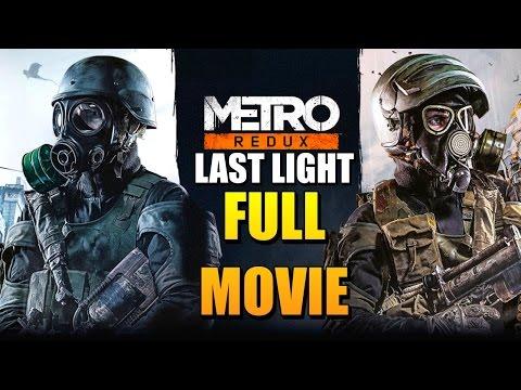 Metro Last Light Redux Full Movie (All Cutscenes)