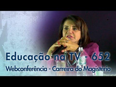 WebConferência: Carreira do Magistério - 2