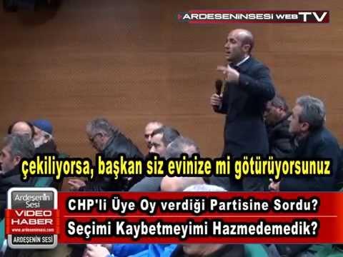 CHP'ye Oy Veren Vatandaş Soruyor?