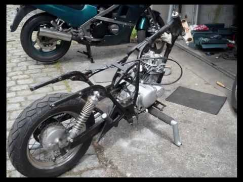 Suzuki GZ 125 Ccm Marauder Dragstyl Custom Bobber Chopper Build Story Part1 HD