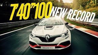 Megane RS Trophy-R : NEW record on the Nordschleife (Full lap) by Motorsport Magazine