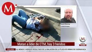 Hay un muerto y 3 heridos por balacera en Cuernavaca, confirman autoridades