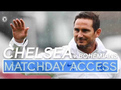 🎥 Matchday Access | Frank Lampard's First Match In Charge