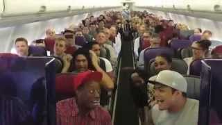 THE LION KING Australia: Cast Sings Circle of Life on Flight Home from Brisbane - YouTube