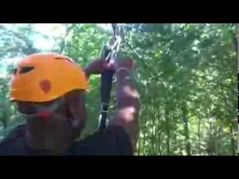 Black Hercules vs. The Zipline