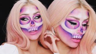 Halloween Glitter Euphoria Skull Tutorial w ALEX FACTION- CHRISSPY by Chrisspy