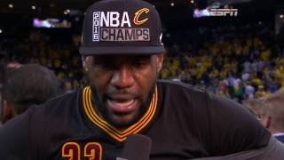 Download Lagu Final 3:39 of Game 7 of the 2016 NBA Finals | Cavaliers vs Warriors Mp3