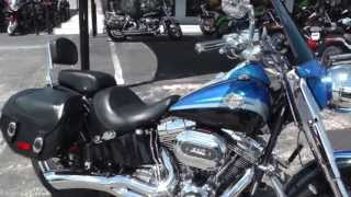 9. 2010 Harley Davidson Softail Convertible CVO Screamin Eagle - Used Motorcycle For Sale