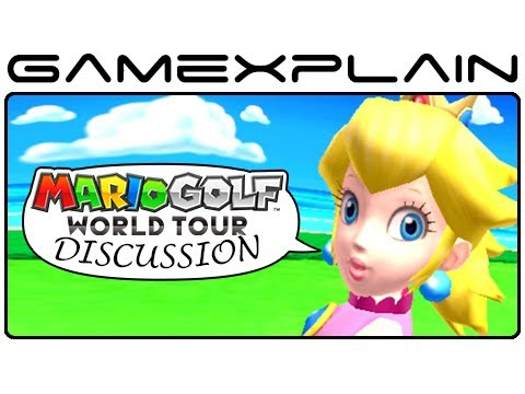 3DS - http://www.GameXplain.com It's review day for Mario Golf: World Tour, but we're not quite ready with ours yet! So instead, we put together a discussion to give our thoughts on the game's single-pl...