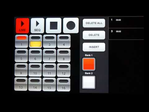Video of Electrum Drum Machine/Sampler