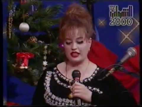 المذيعة العراقية شروق فائق في سهرة تلفزيون الشباب 2000